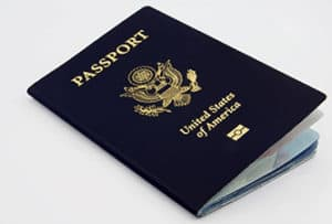Photo of a US Passport book