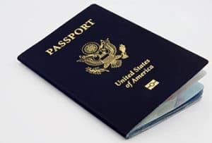 Photo of a US Passport book